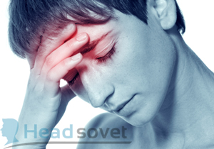 Появление приступа мигрени