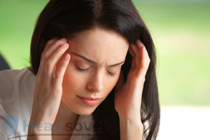 Признаки мигрени с аурой