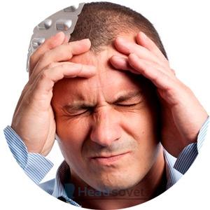 У мужчины первичная головная боль