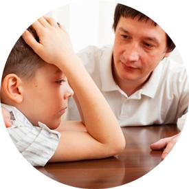 Поговорить с ребенком про больную голову